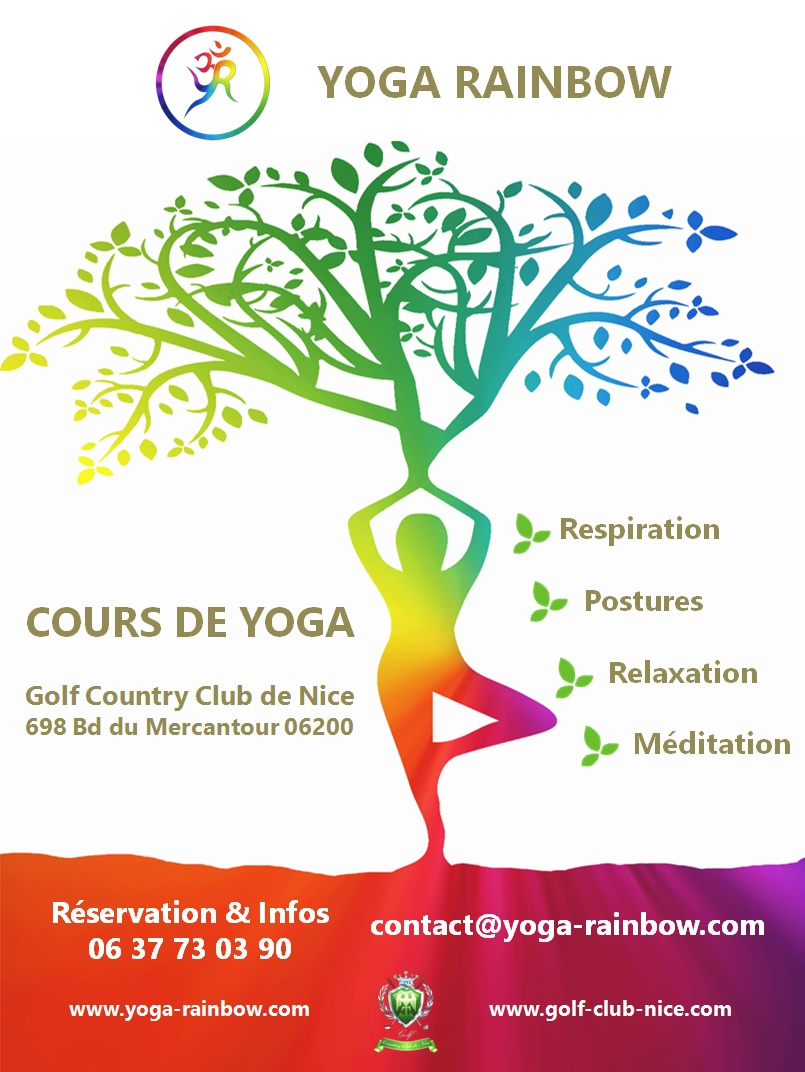 FLYER YOGA RAINBOW GOLF COUNTRY CLUB