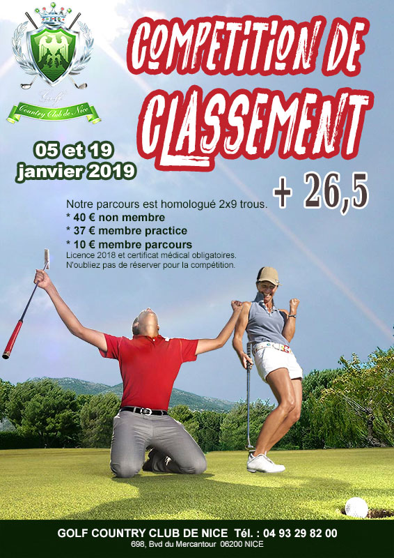 competitions classement