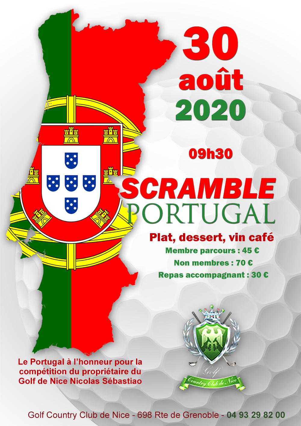 SCRAMBLE PORTUGAL 30aout