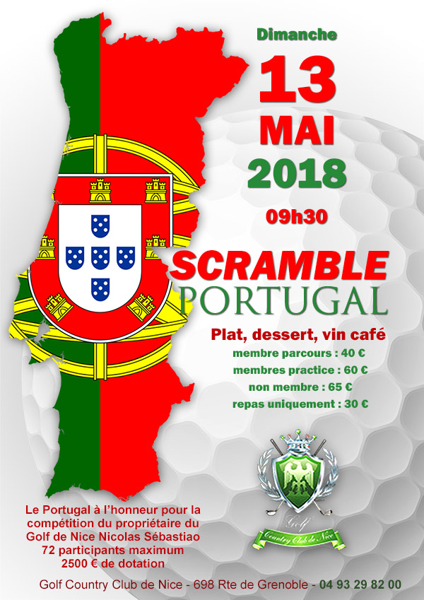 SCRAMBLE PORTUGAL news